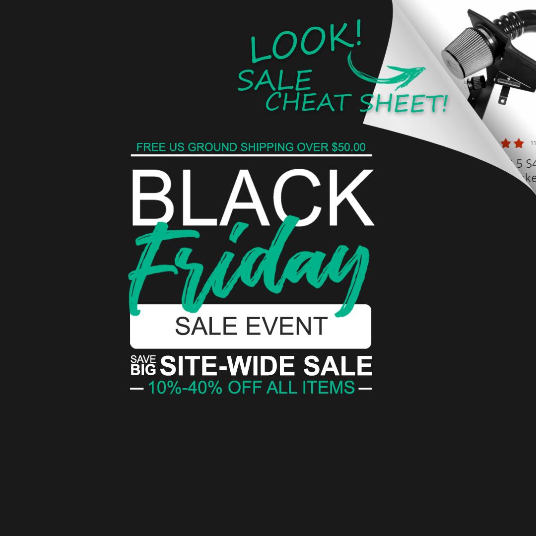 IE Black Friday Cheat Sheet
